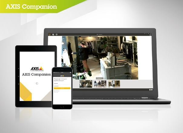 Soft video management AXIS CAMERA COMPANION