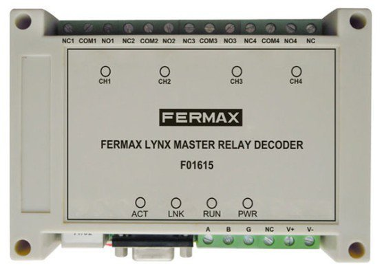 Modul 4 relee IP LYNX - MASTER