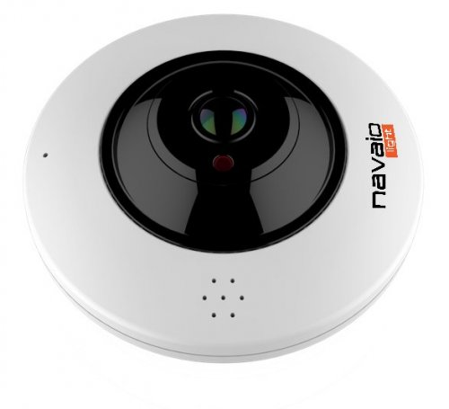 Camera FISH EYE IP lentila fixa 1.05mm, 4 MP