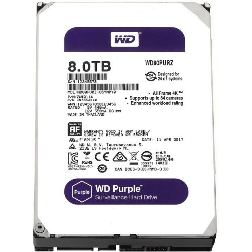 Hard Disk  8TB Western Digital